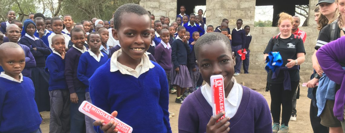Partner School Make Foundation Delivery To Africa