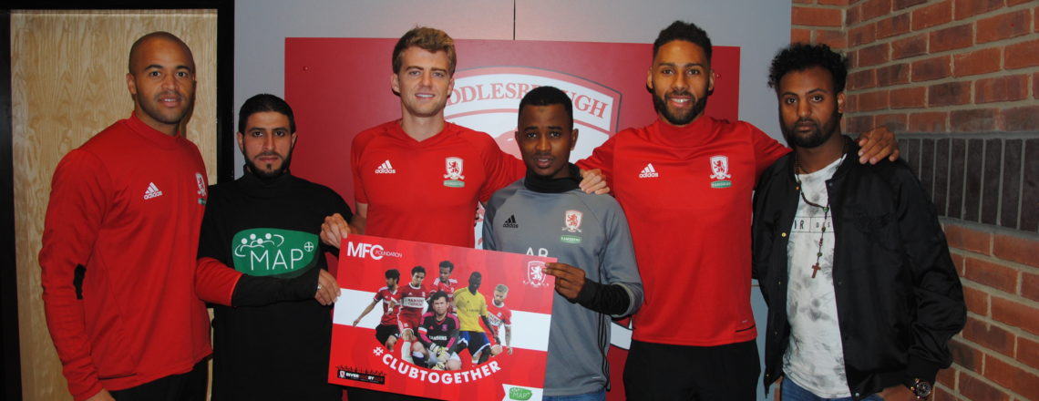 Boro Players Back #ClubTogether Inclusion Programme