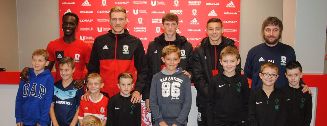 Teesside Teams On Tour With MFC Foundation