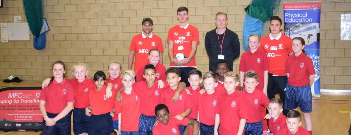 Monk Makes Acklam Grange School Visit
