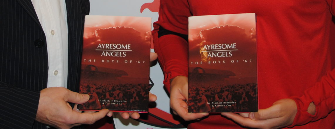 Golden Ticket Lotto & 'Ayresome Angels' Book On Sale Against Cardiff