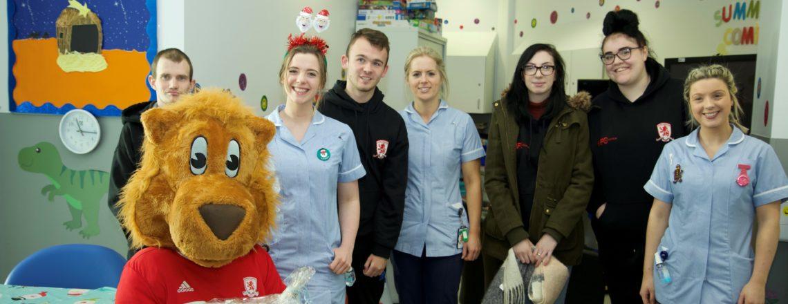 Foundation's Team Up To Spread Christmas Joy