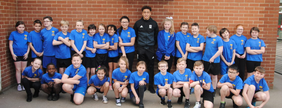 Tavernier Brings The Smiles On Stockton School Visit