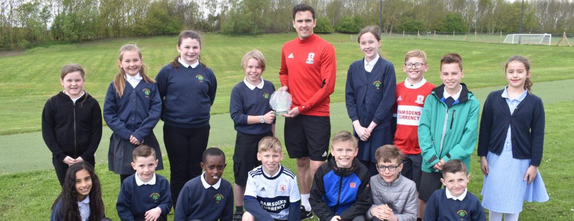 Stewart Downing Lands PFA Community Champion Award