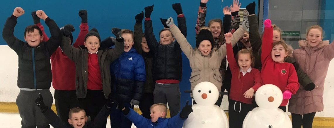 Foundation take over 250 children with disabilities Ice Skating