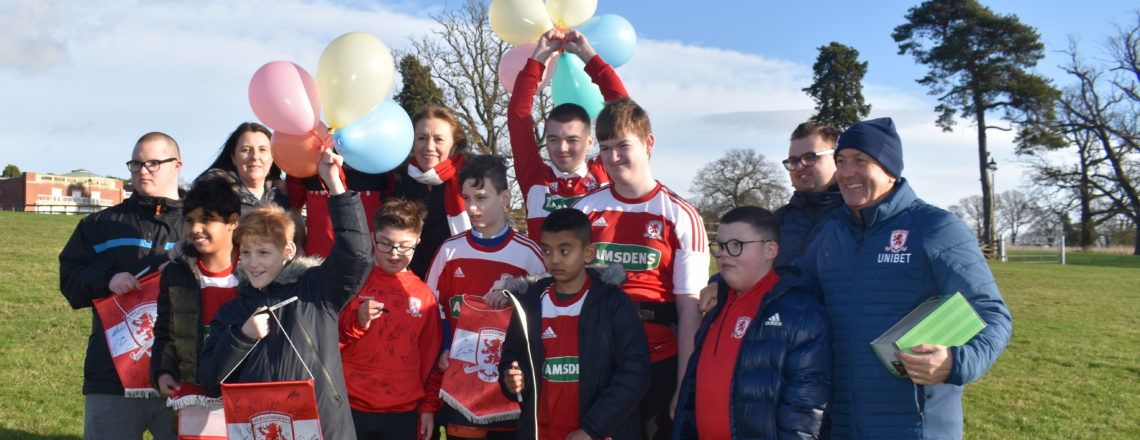 Middlesbrough School Children Celebrate Tony Pulis' Birthday