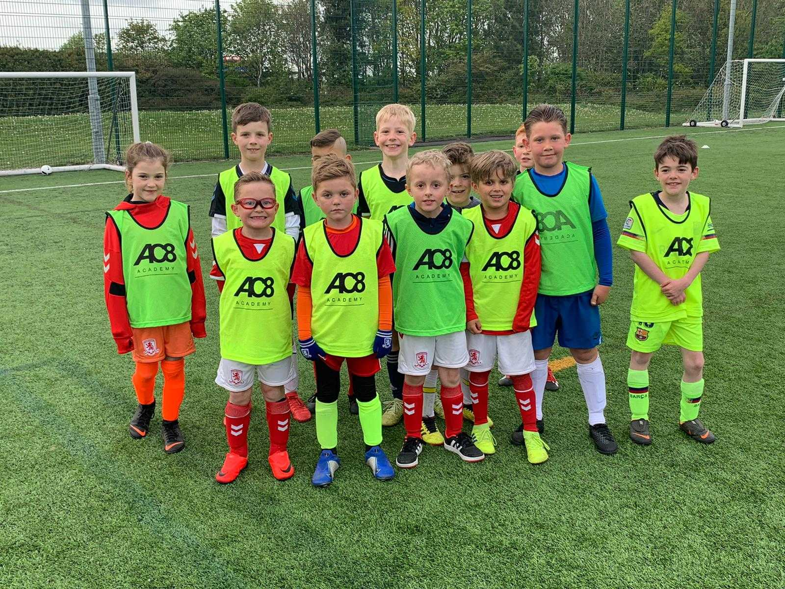 Middlesbrough FC's Adam Clayton launches Football Academy