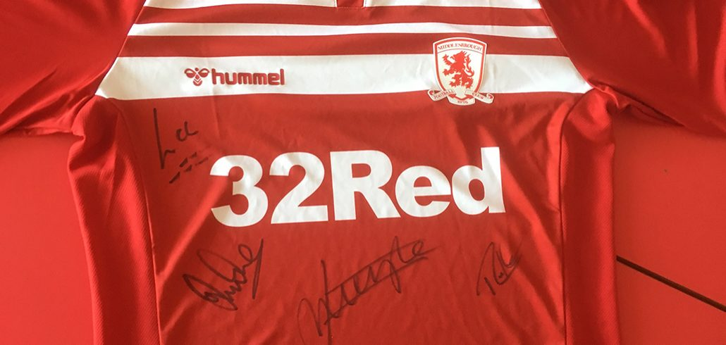 MFC 2019/20 Home Shirt Signed by the All New Coaching Team