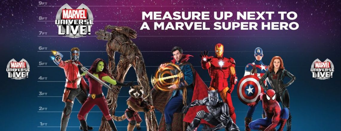 MFC Foundation Team Up With Marvel Universe Live!